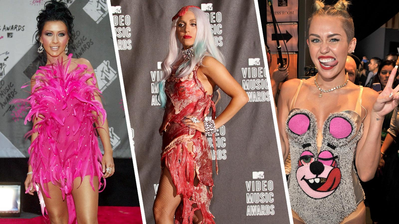 The wildest VMA's looks of all time!