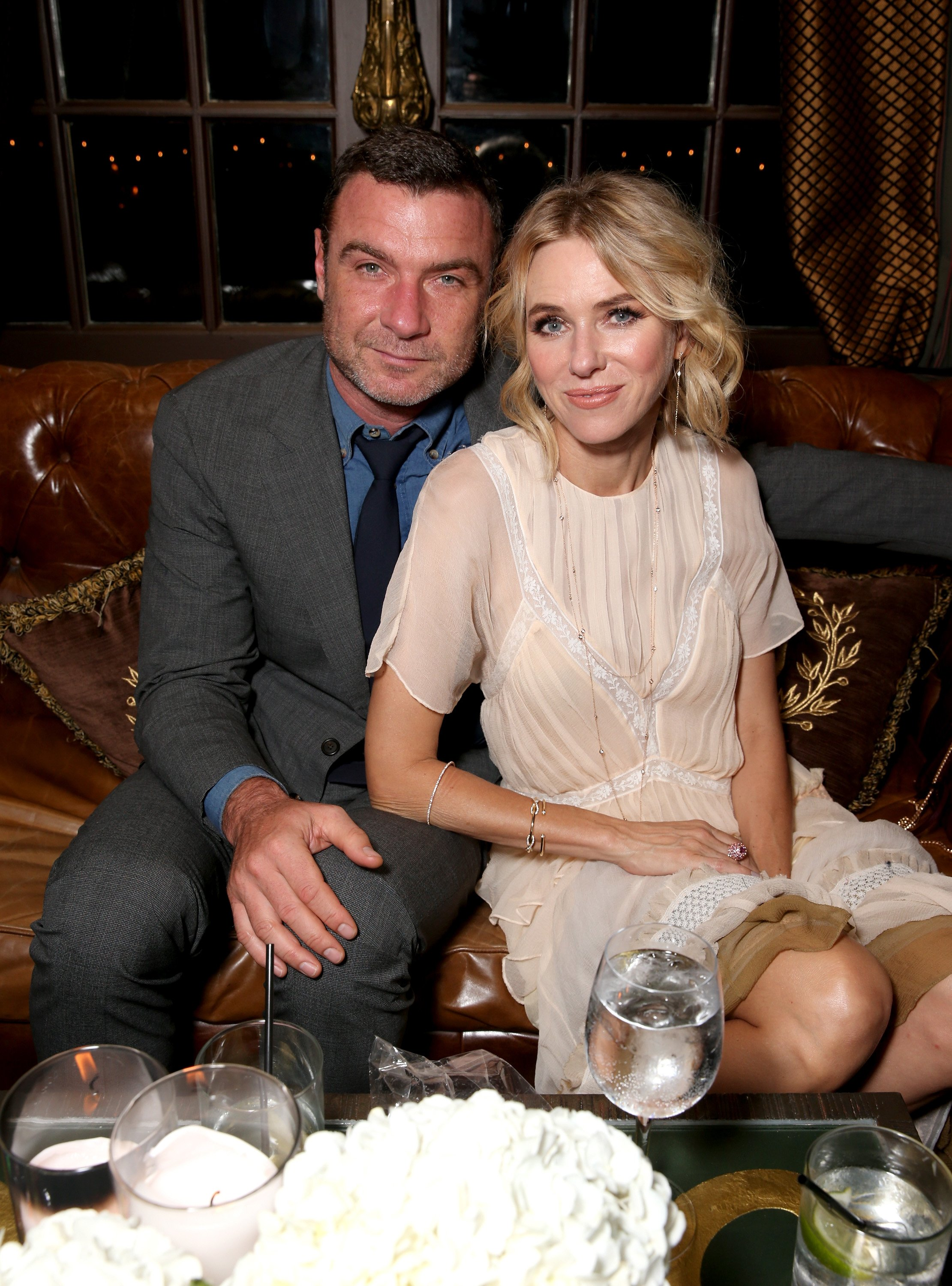 Leiv Schreiber and Naomi Watts attend the Hollywood Foreign Press Association and InStyle's annual celebration of the Toronto International Film Festival at Windsor Arms Hotel on September 10, 2016 in Toronto