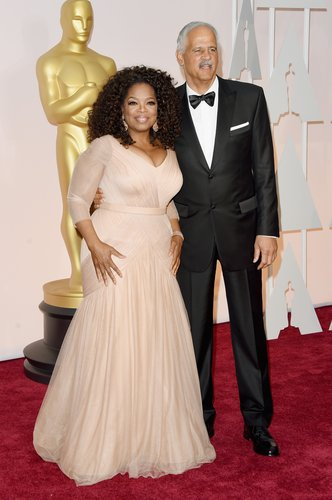 Oprah Winfrey and Stedman Graham attend the 87th Annual Academy Awards at Hollywood & Highland Center on February 22, 2015 in Hollywood