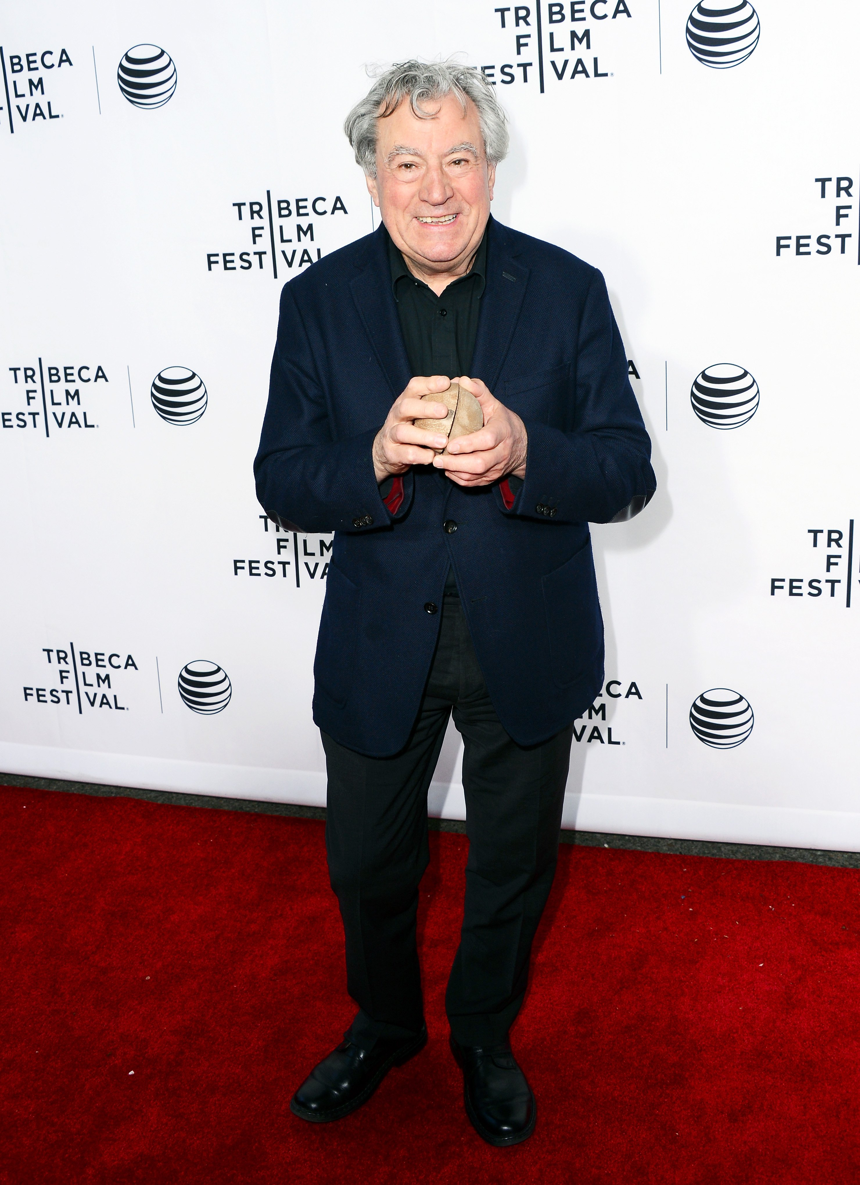Terry Jones attends the 'Monty Python And The Holy Grail' Special Screening during the 2015 Tribeca Film Festival at Beacon Theatre on April 24, 2015 in New York City