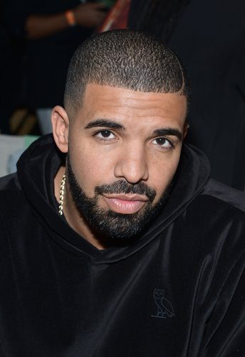 Drake attends the Serena Williams Signature Statement by HSN show during Spring 2016 Style360 on September 15, 2015 in New York City