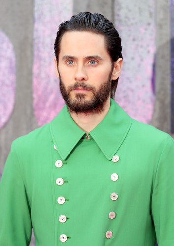 Jared Leto attends the European Premiere of 'Suicide Squad' at the Odeon Leicester Square on August 3, 2016 in London