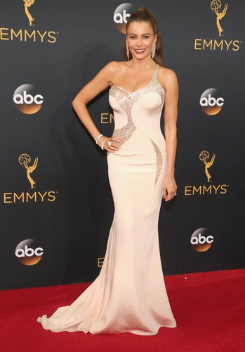 Sofia Vergara attends the 68th Annual Primetime Emmy Awards at Microsoft Theater on September 18, 2016 in Los Angeles
