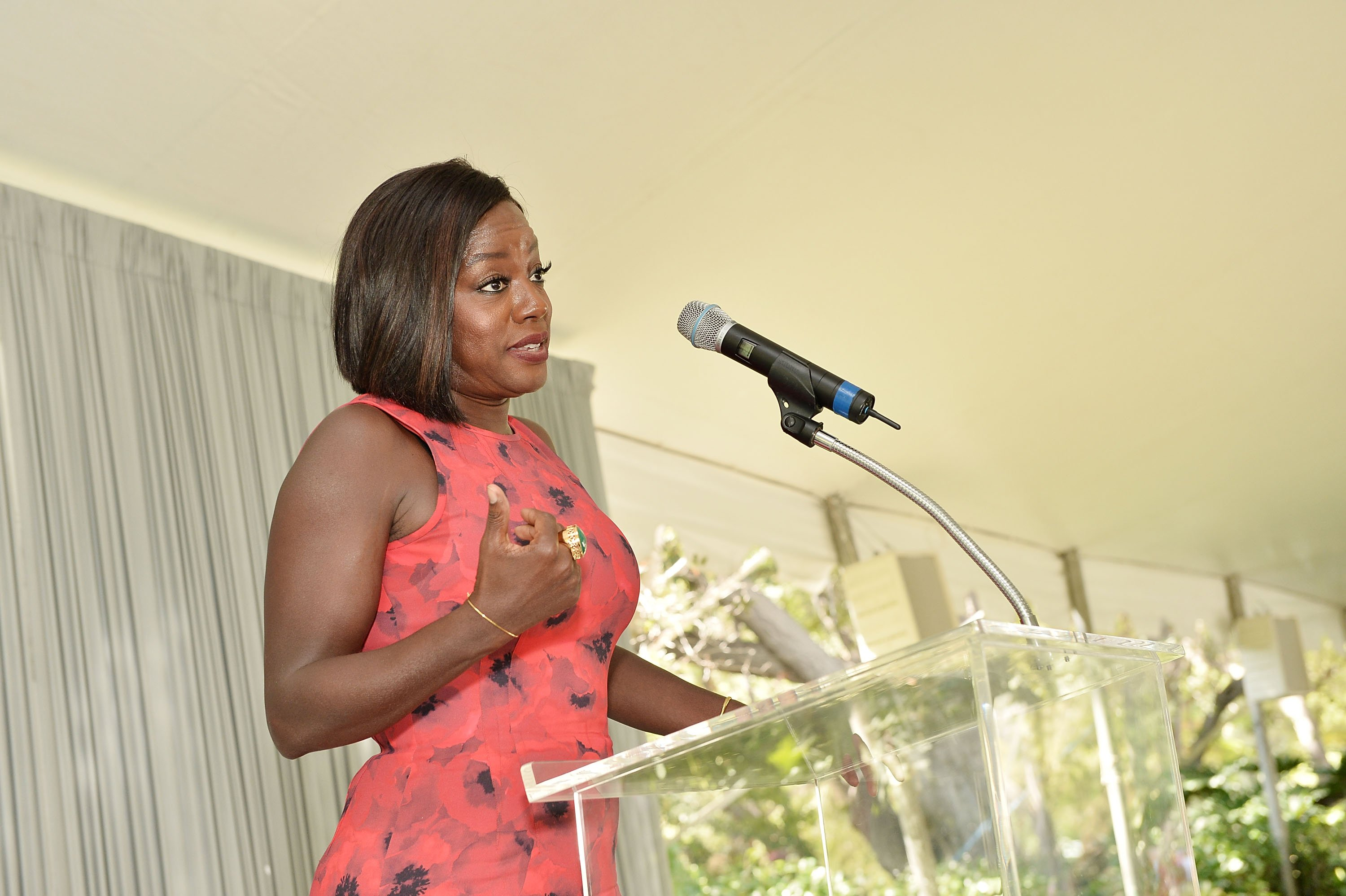 Viola Davis attends The Rape Foundation's Annual Brunch at Private Residence on September 25, 2016 in Beverly Hills