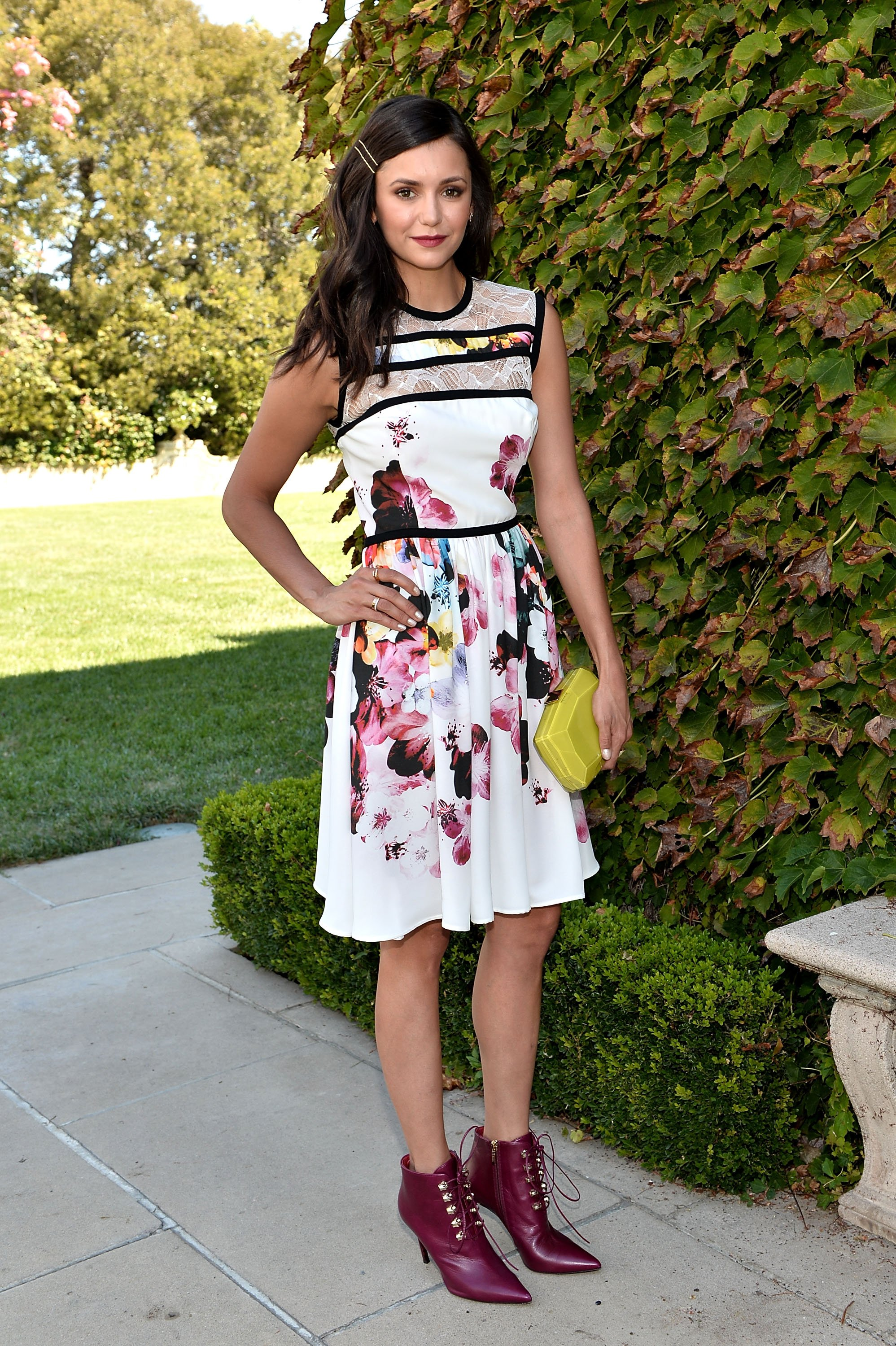 Nina Dobrev attends The Rape Foundation's Annual Brunch at Private Residence on September 25, 2016 in Beverly Hills