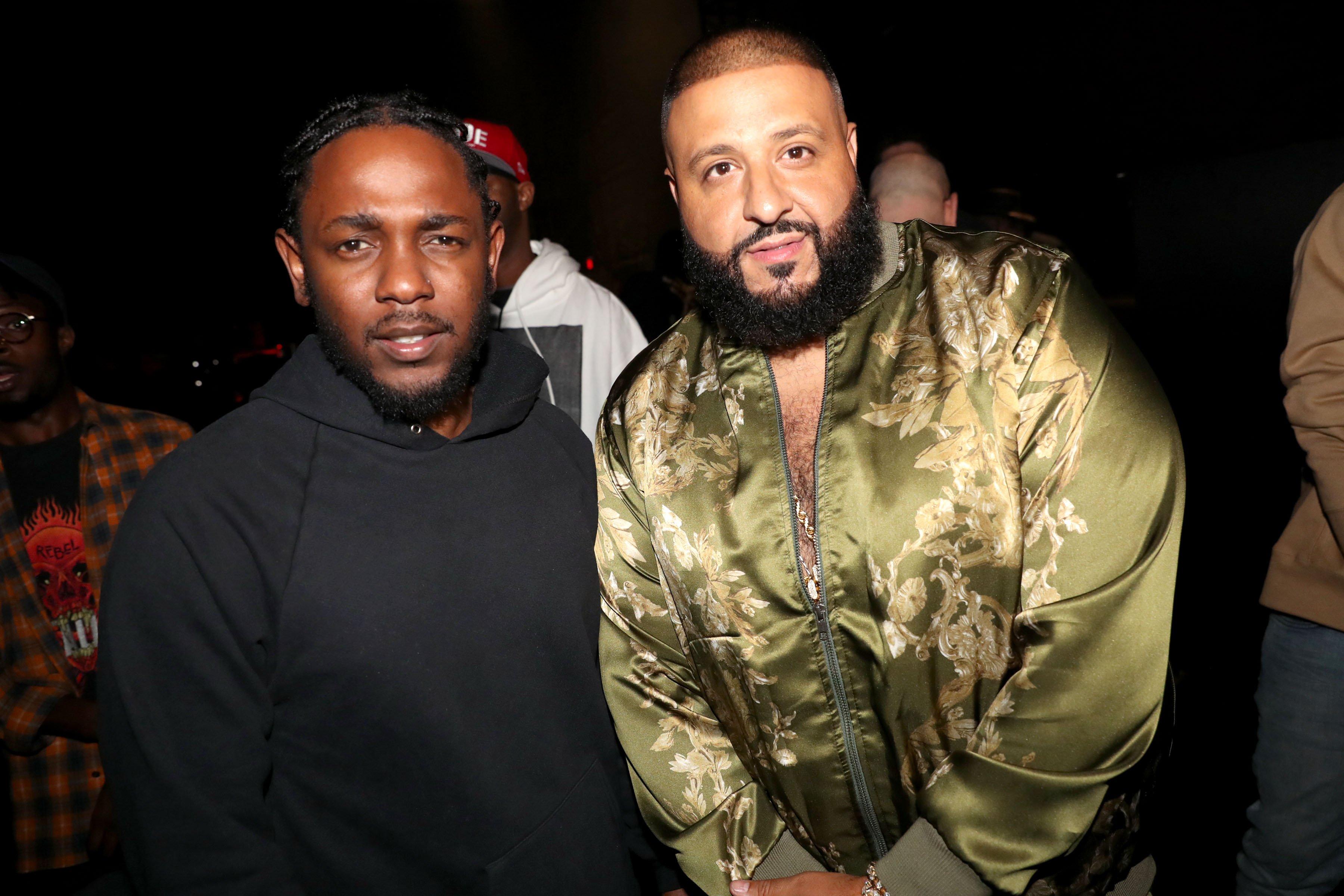 Kendrick Lamar and DJ Khaled September 17, 2016 BET Hip Hop awards