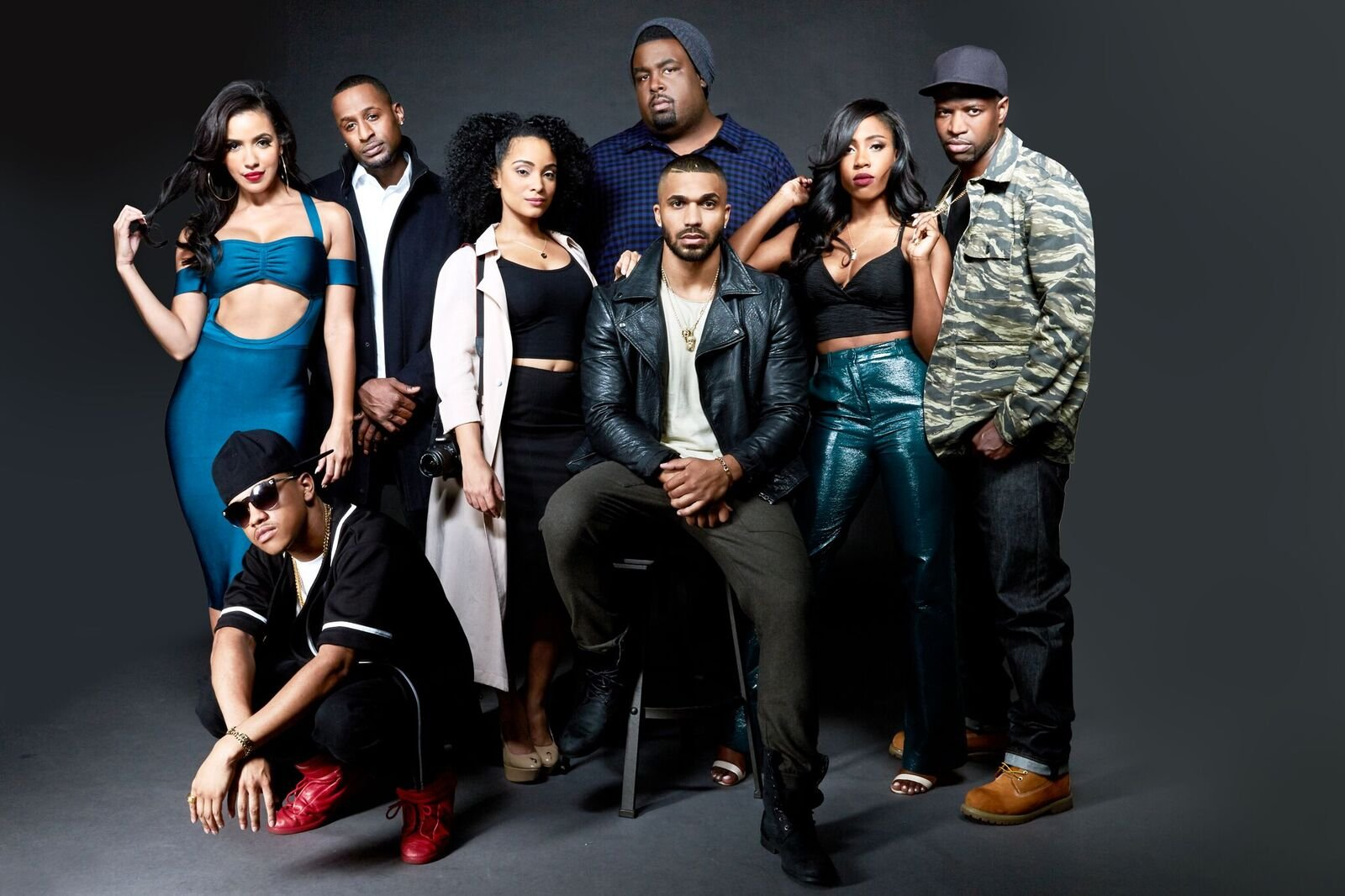 The cast of TV One's 'Ringside'