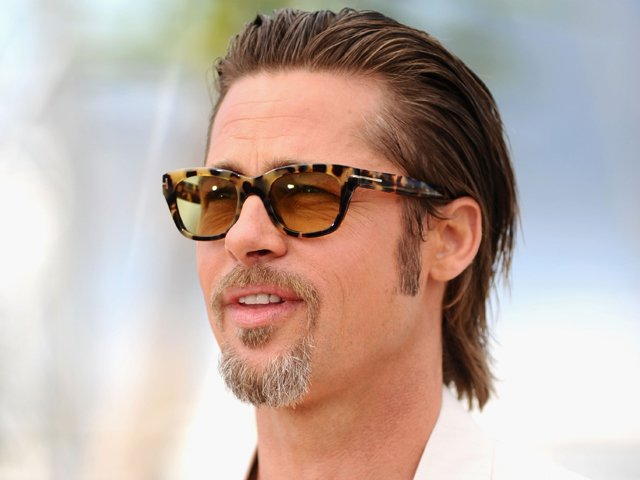 Cannes Film Festival 2011: Brad Pitt Rocks The Retro Look For 'The Tree Of Life'