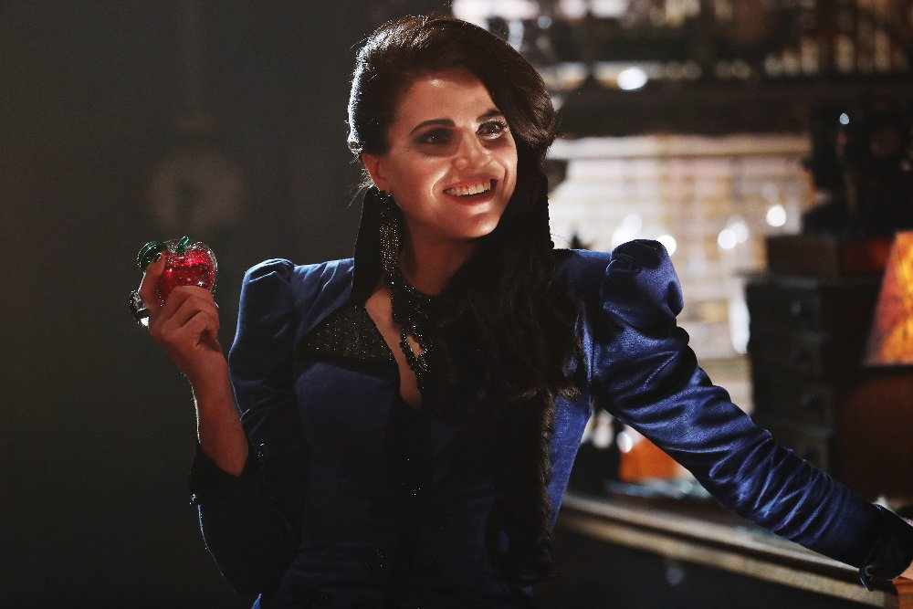 Lana Parrilla as the Evil Queen in the 'Strange Case' episode of 'Once Upon a Time' Season 6