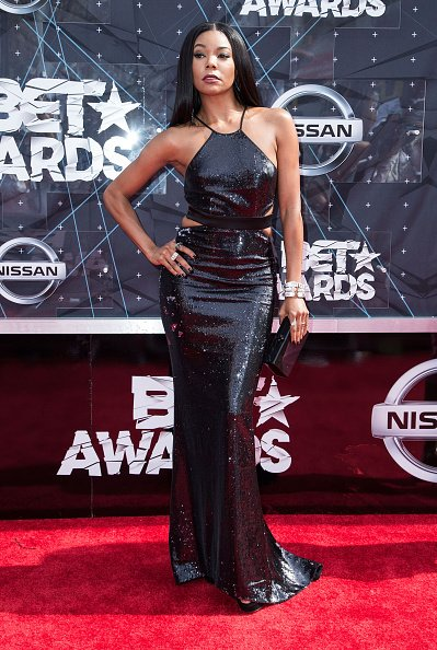Gabrielle Union at the 2015 BET Awards in Los Angeles