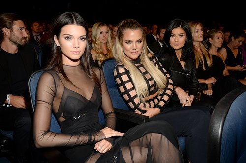 Kendall Jenner with Khloe Kardashian and Kylie Jenner at The 2015 ESPYS at Microsoft Theater on July 15, 2015 in Los Angeles