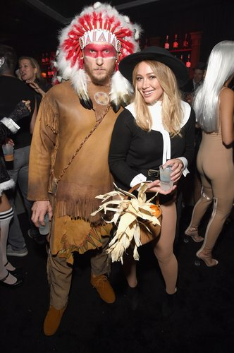 Hilary Duff and Jason Walsh attend the Casamigos Halloween Party on October 28, 2016 in Beverly Hills