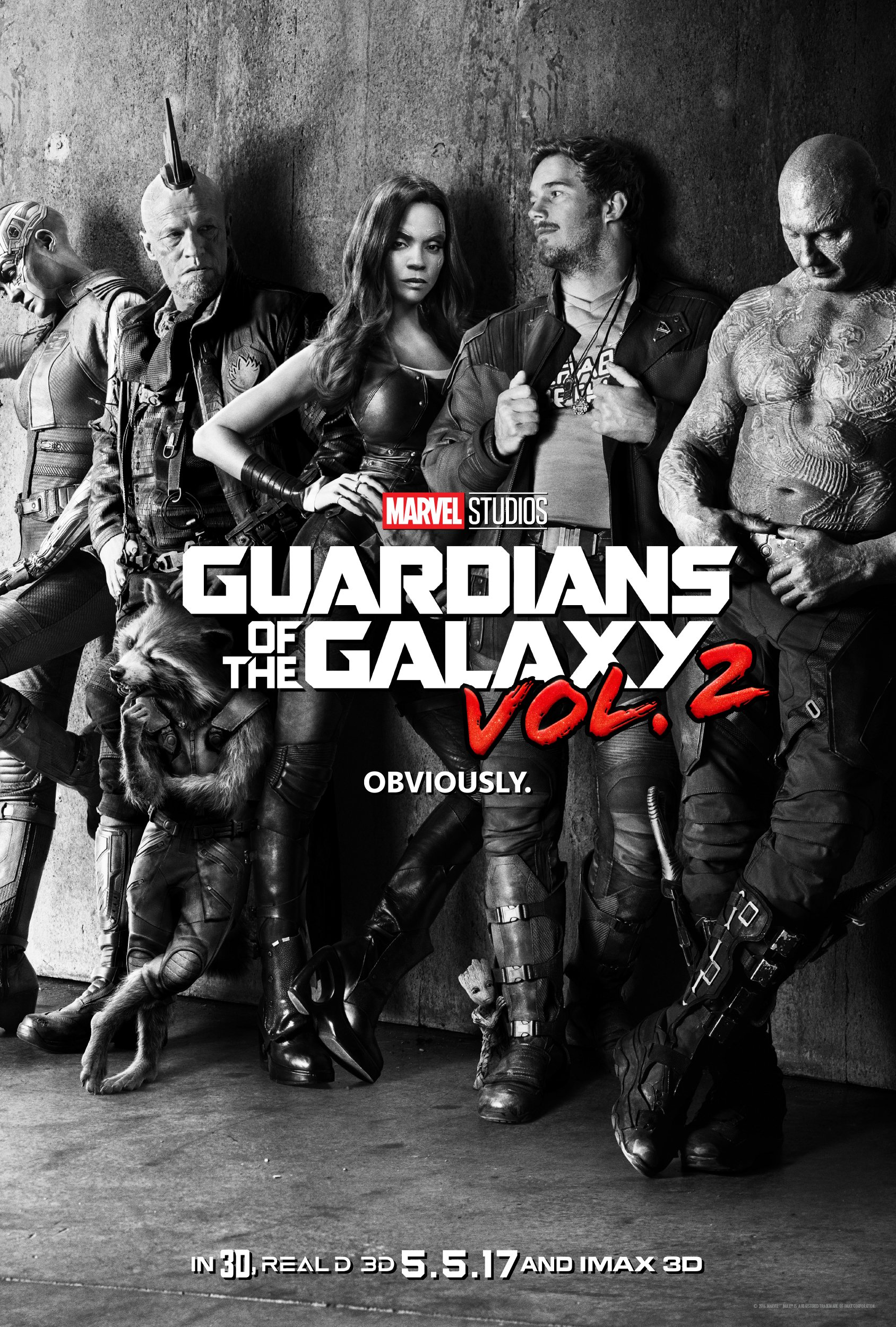 The 'Guardians of the Galaxy Vol. 2' teaser poster