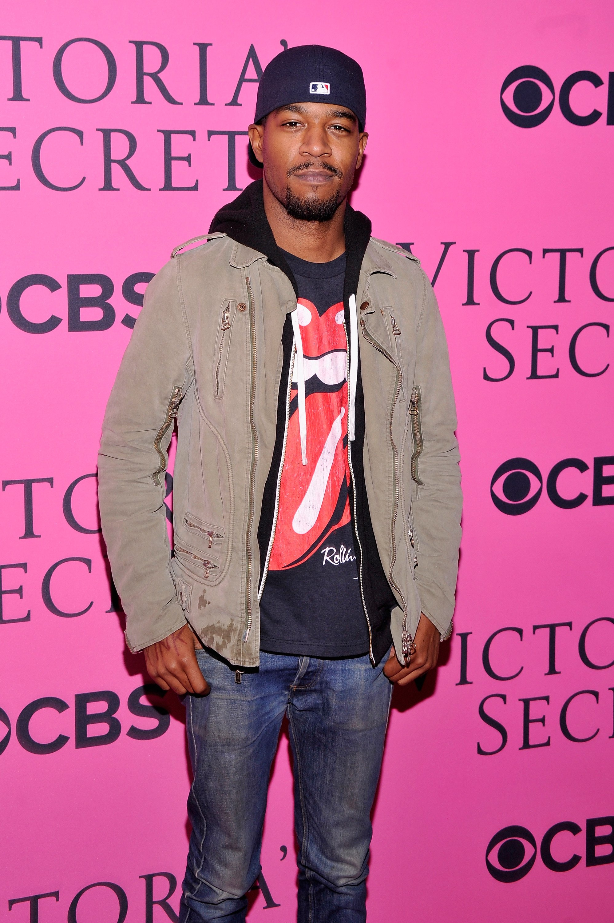 Kid Cudi attends the 2012 Victoria's Secret Fashion Show at the Lexington Avenue Armory on November 7, 2012 in New York City