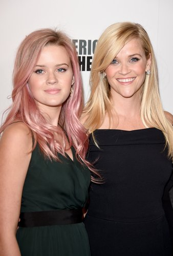Reese Witherspoon and Ava Phillippe attend the 29th American Cinematheque Award honoring Reese Witherspoon at the Hyatt Regency Century Plaza on October 30, 2015 in Los Angeles