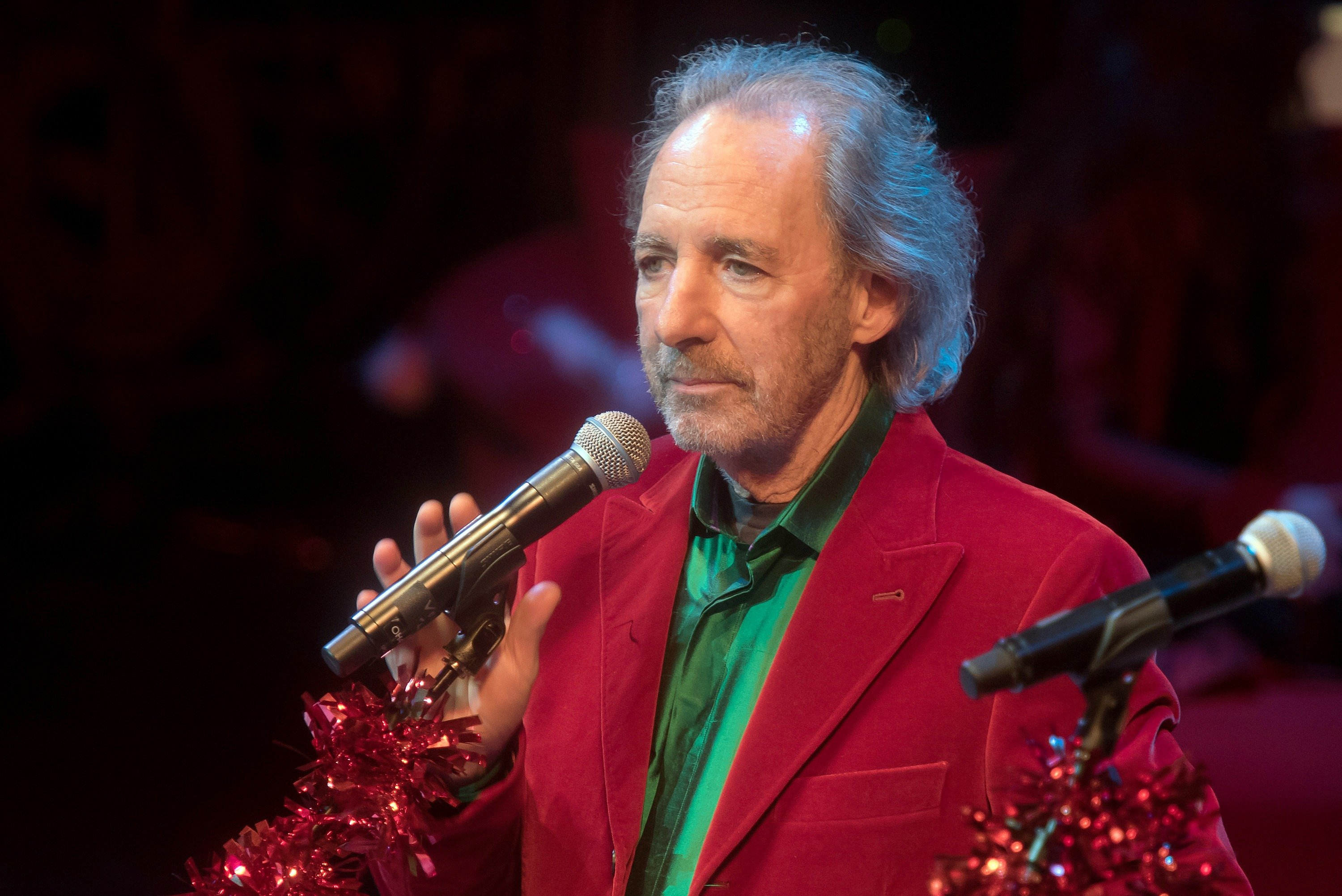 Harry Shearer performs during the Christmas Without Tears New York Concert at BAM Peter Jay Sharp Building on December 1, 2015 in the Brooklyn borough of New York City