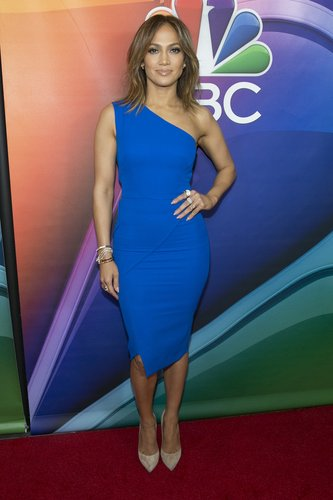 Jennifer Lopez arrives for the NBCUniversal 2016 Winter TCA Tour at the Langham Hotel on January 13, 2016 in Pasadena