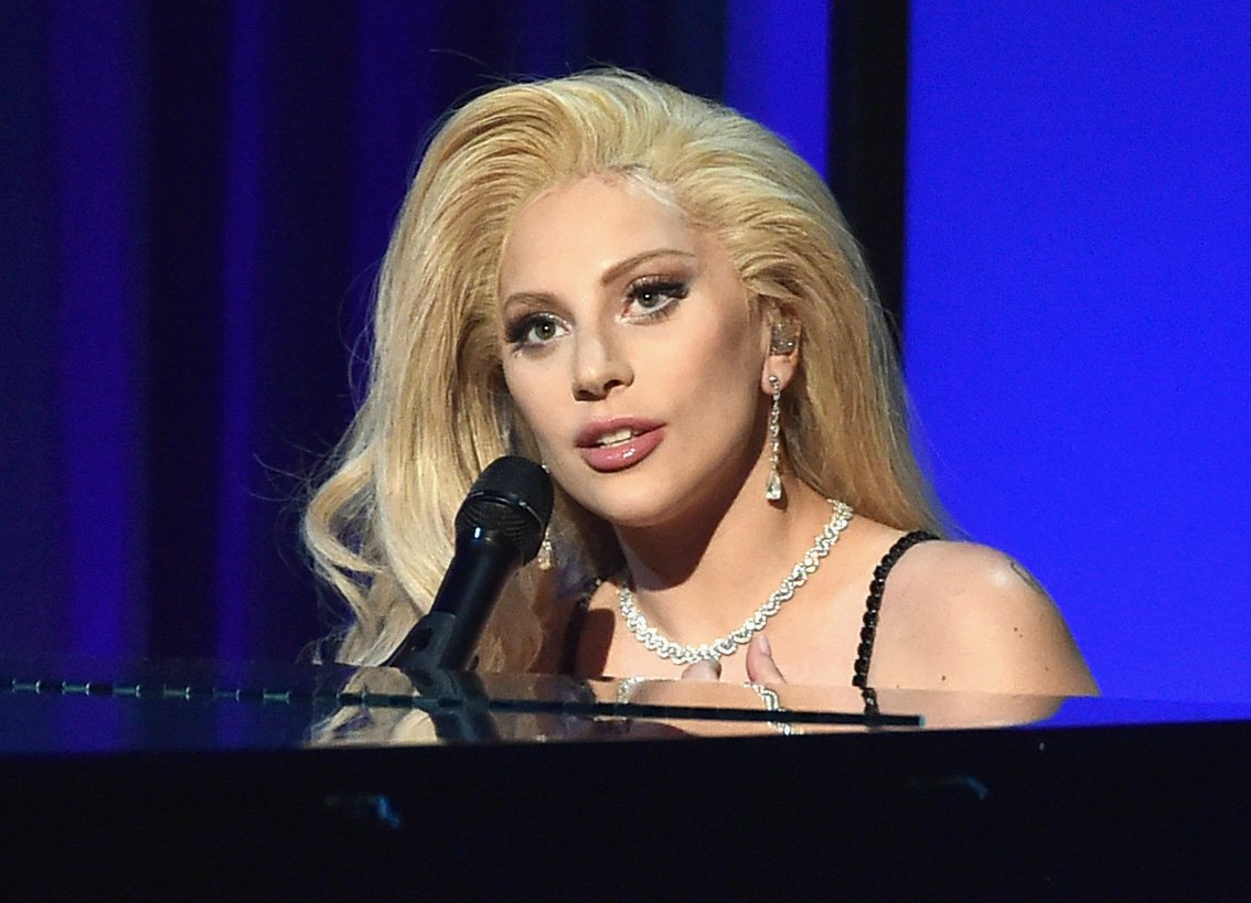 Lady Gaga performs onstage at the 27th Annual Producers Guild Of America Awards at the Hyatt Regency Century Plaza on January 23, 2016 in Century City