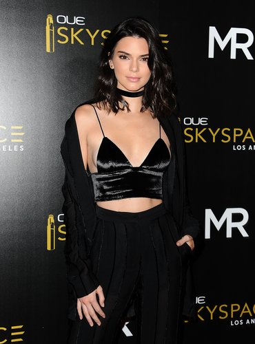 Kendall Jenner attends the launch of OUE Skyspace LA at U.S. Bank Tower on July 14, 2016 in Los Angeles