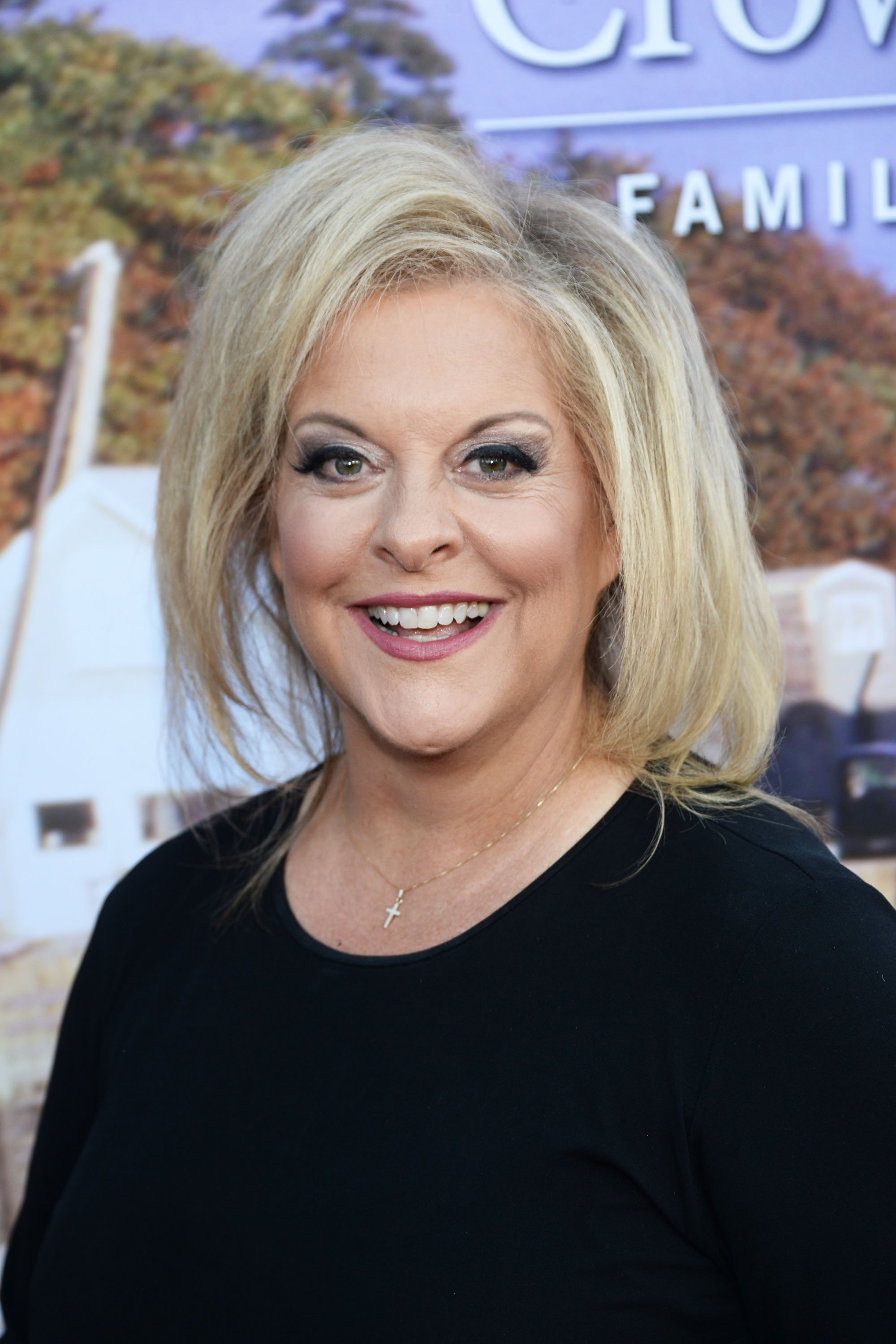 Nancy Grace attends the Hallmark Channel and Hallmark Movies and Mysteries Summer 2016 TCA press tour event on July 27, 2016 in Beverly Hills,