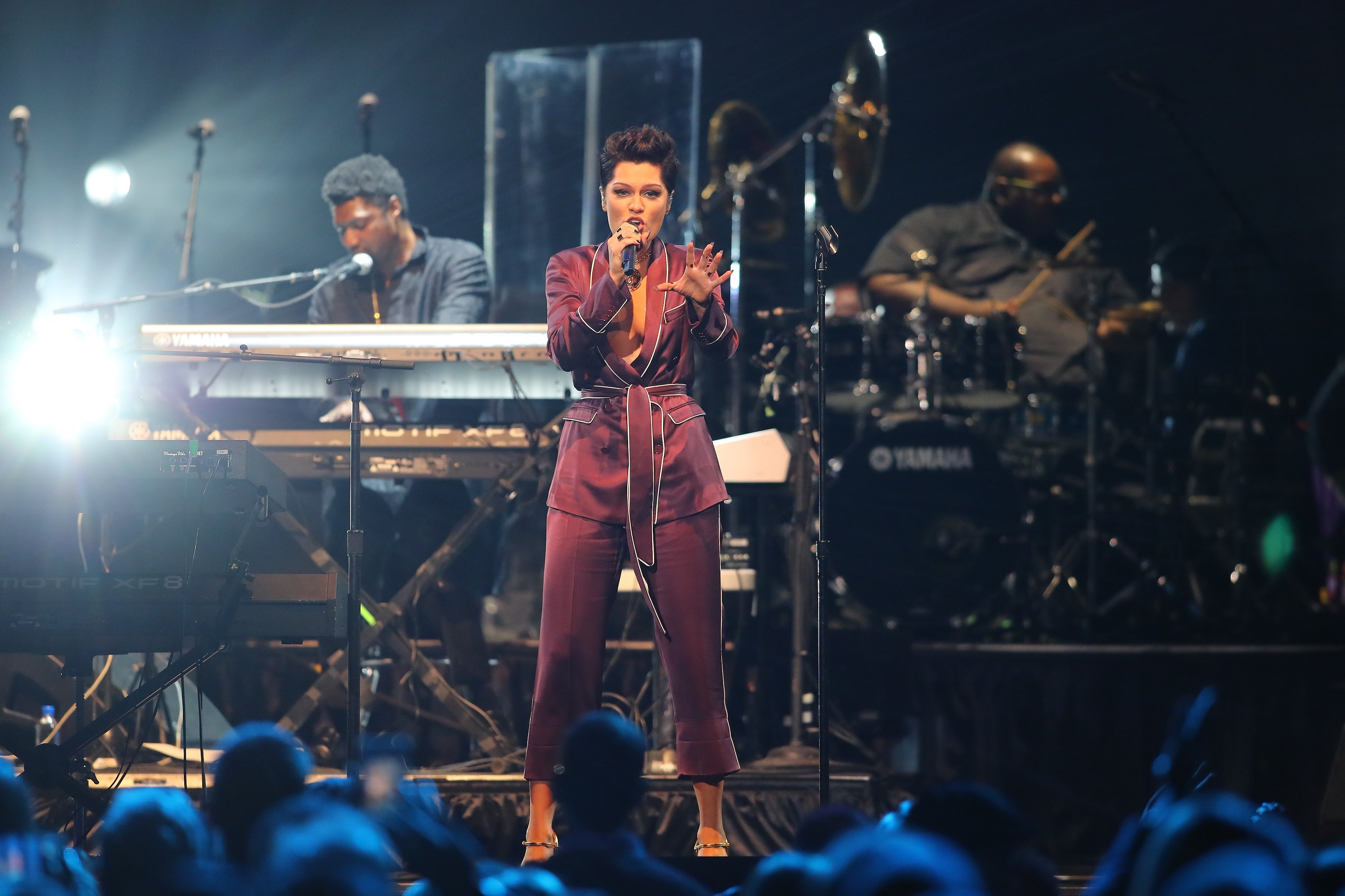 Jessie J performs at Official Prince Tribute Concert Oct 13 2016