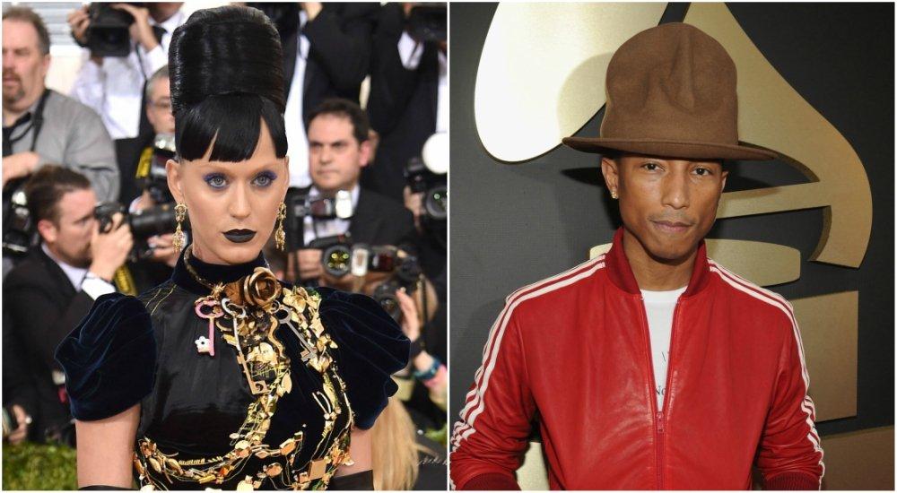 Katy Perry and Pharrell Williams