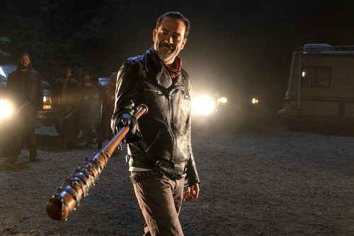 Jeffrey Dean Morgan as Negan in 'The Walking Dead' Season 7