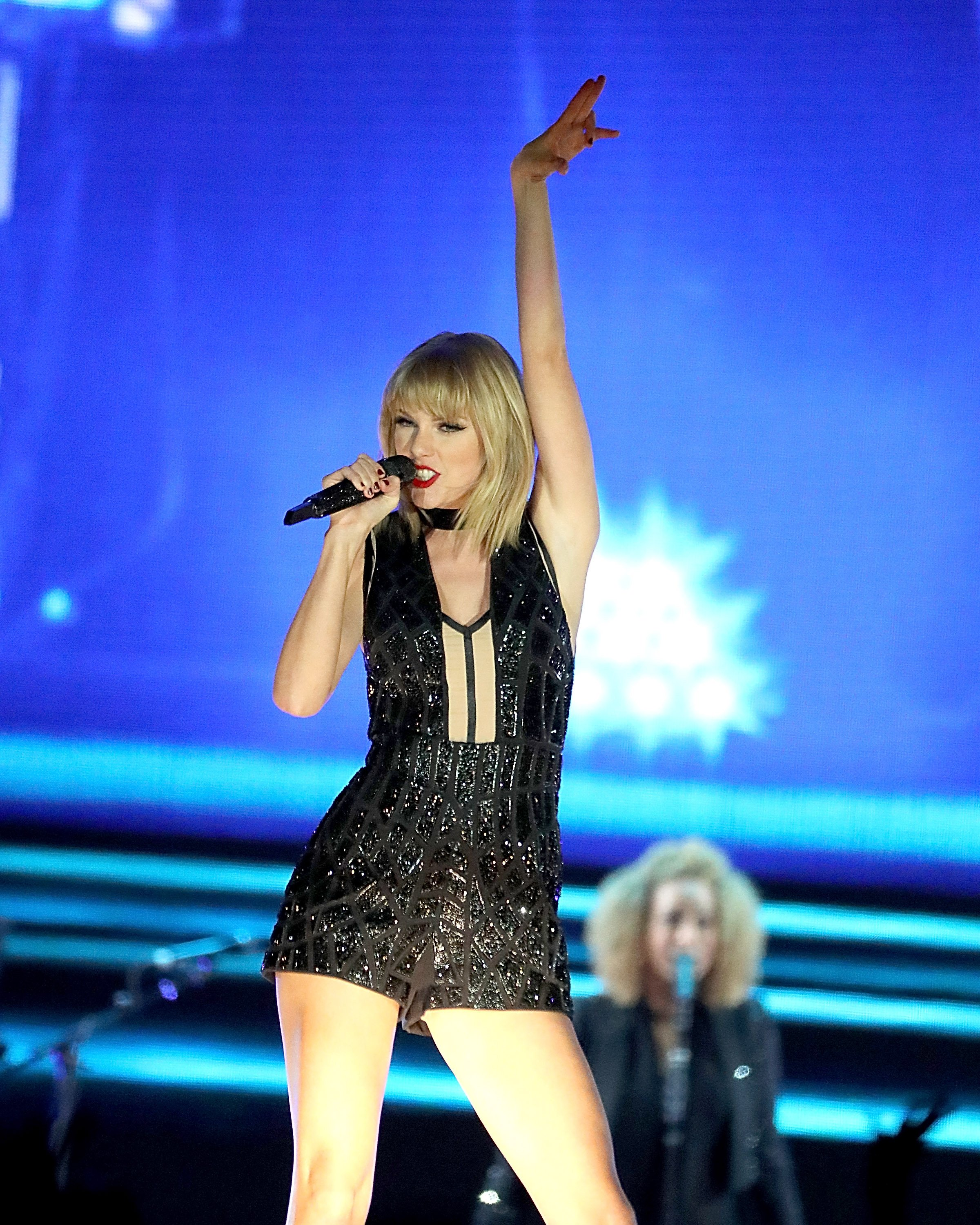Taylor Swift performs for Formula 1 on October 22, 2016 in Austin