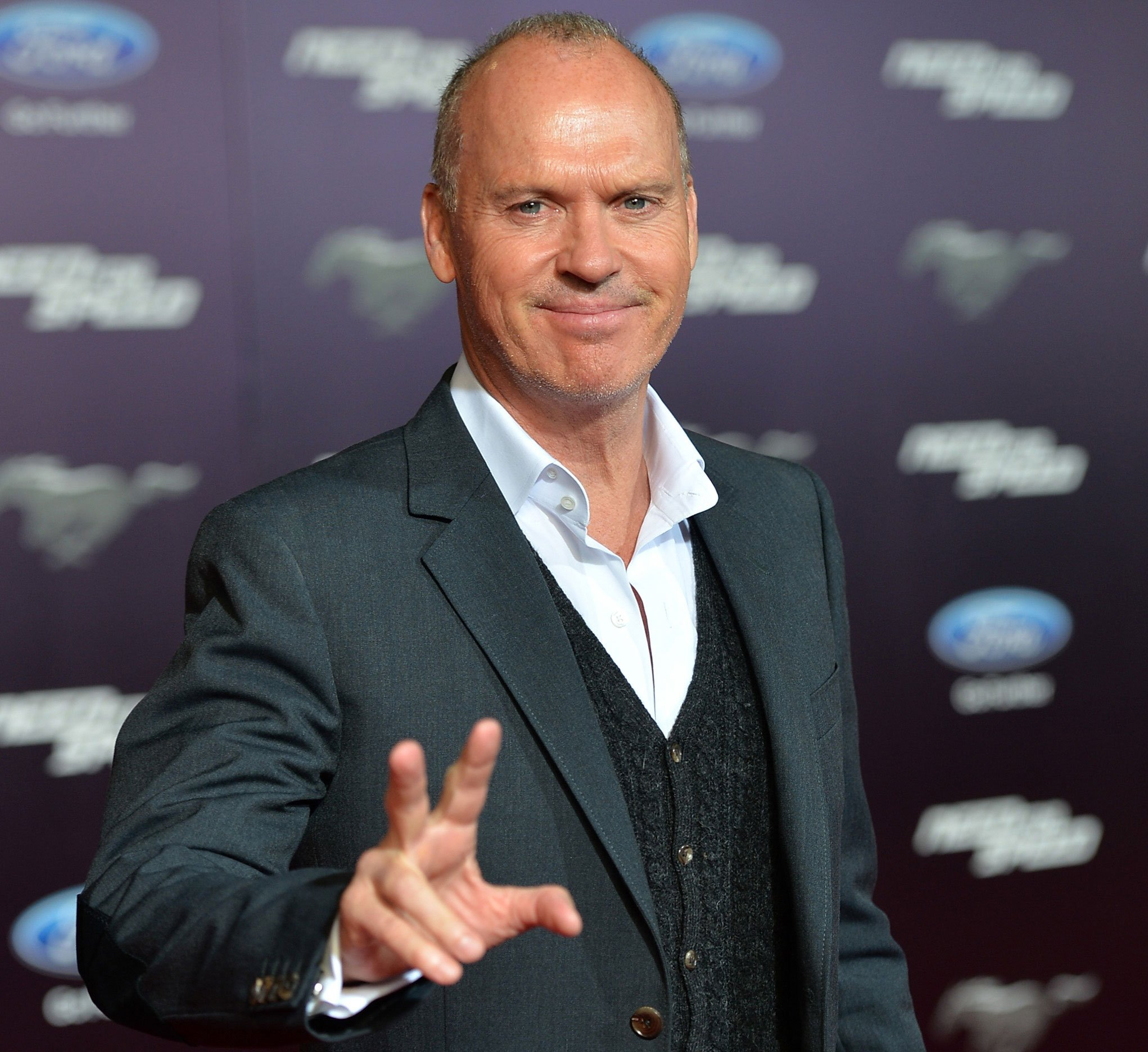 Michael Keaton on March 6, 2014