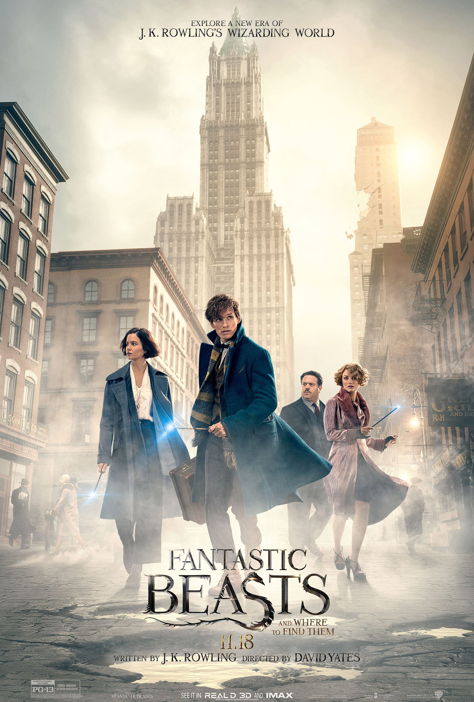 A poster for 'Fantastic Beasts and Where to Find Them'