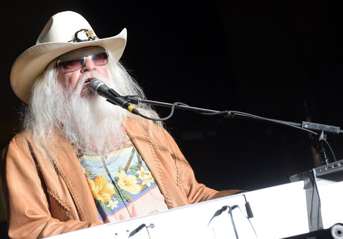 Leon Russell performs onstage during the Agency Group Party at at IEBA Conference Day 3 at the War Memorial Auditorium on October 9, 2012 in Nashville