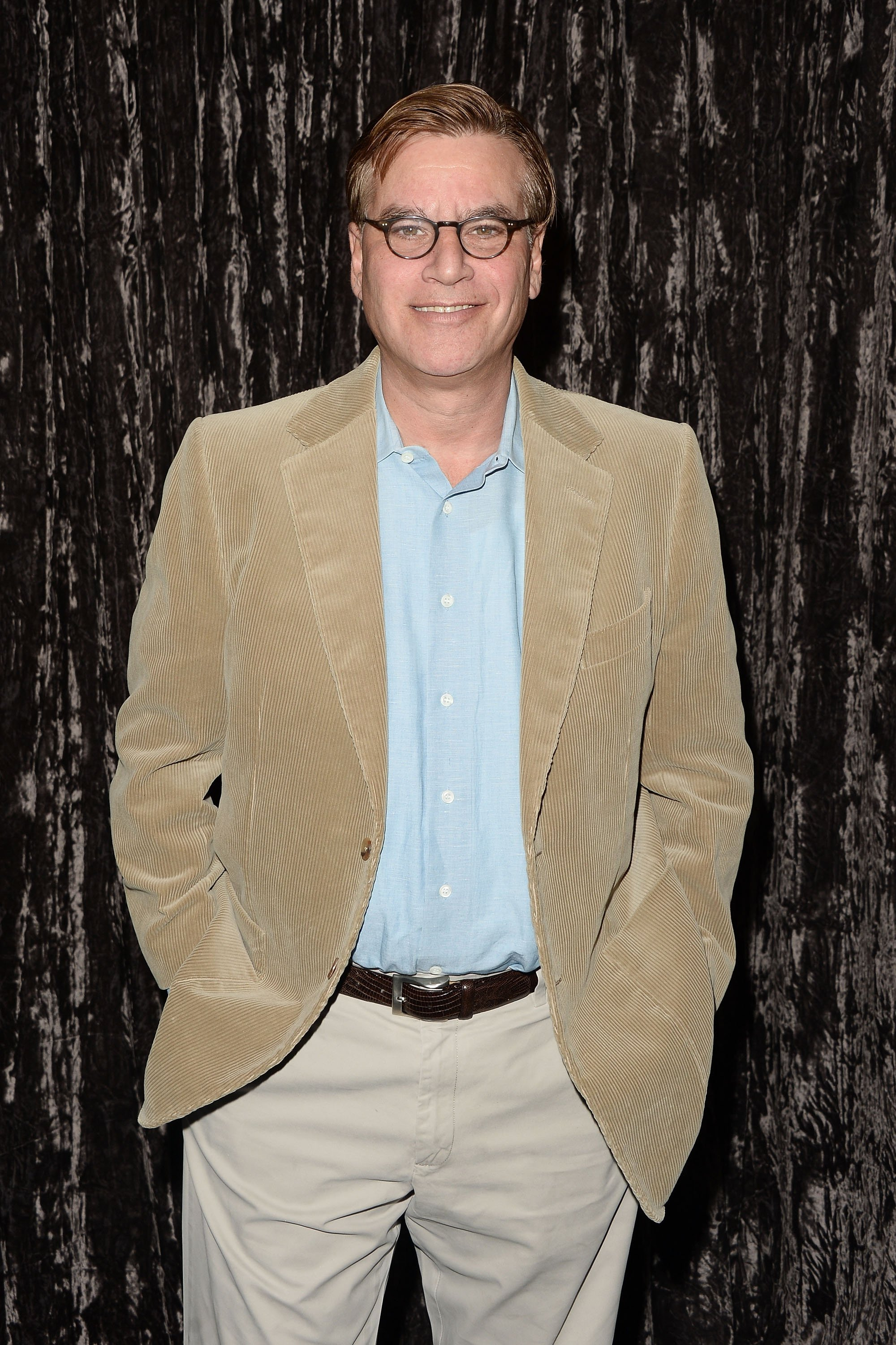 Aaron Sorkin arrives at the Writers Guild's Beyond Words 2016 at Writers Guild Theater on February 4, 2016 in Beverly Hills