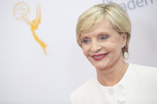 Florence Henderson arrives for the 68th Los Angeles Area Emmy Awards at Television Academy on July 23, 2016 in Los Angeles
