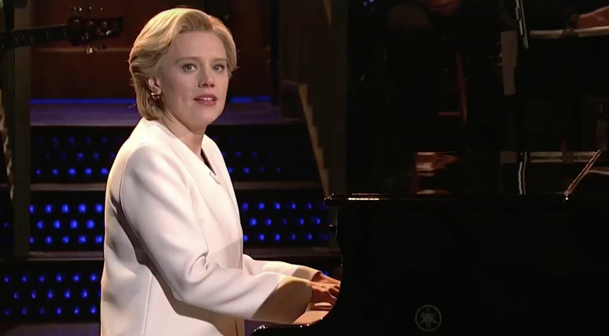 Kate McKinnon as Hillary Clinton on 'Saturday Night Live,' Nov. 12, 2016