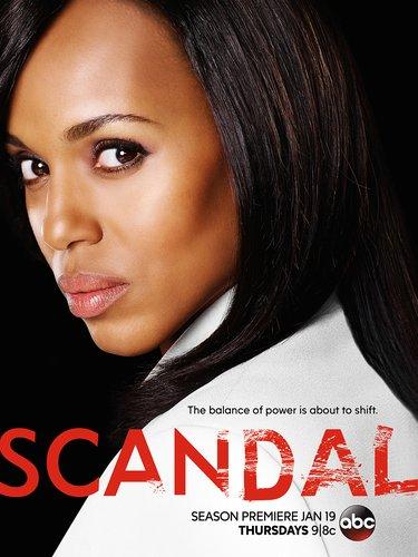 The key art for 'Scandal' Season 6