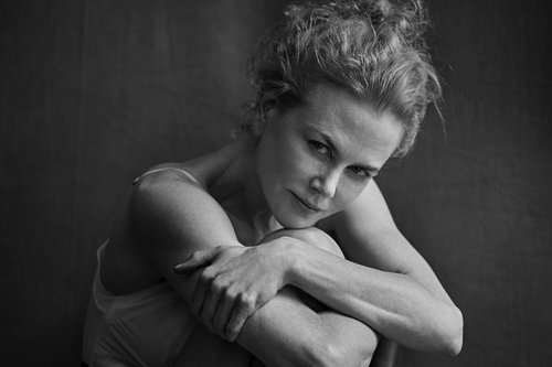 Nicole Kidman in the 2017 Pirelli Calendar, photographed by Peter Lindbergh