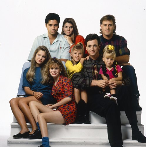 The cast of 'Full House' in 1991