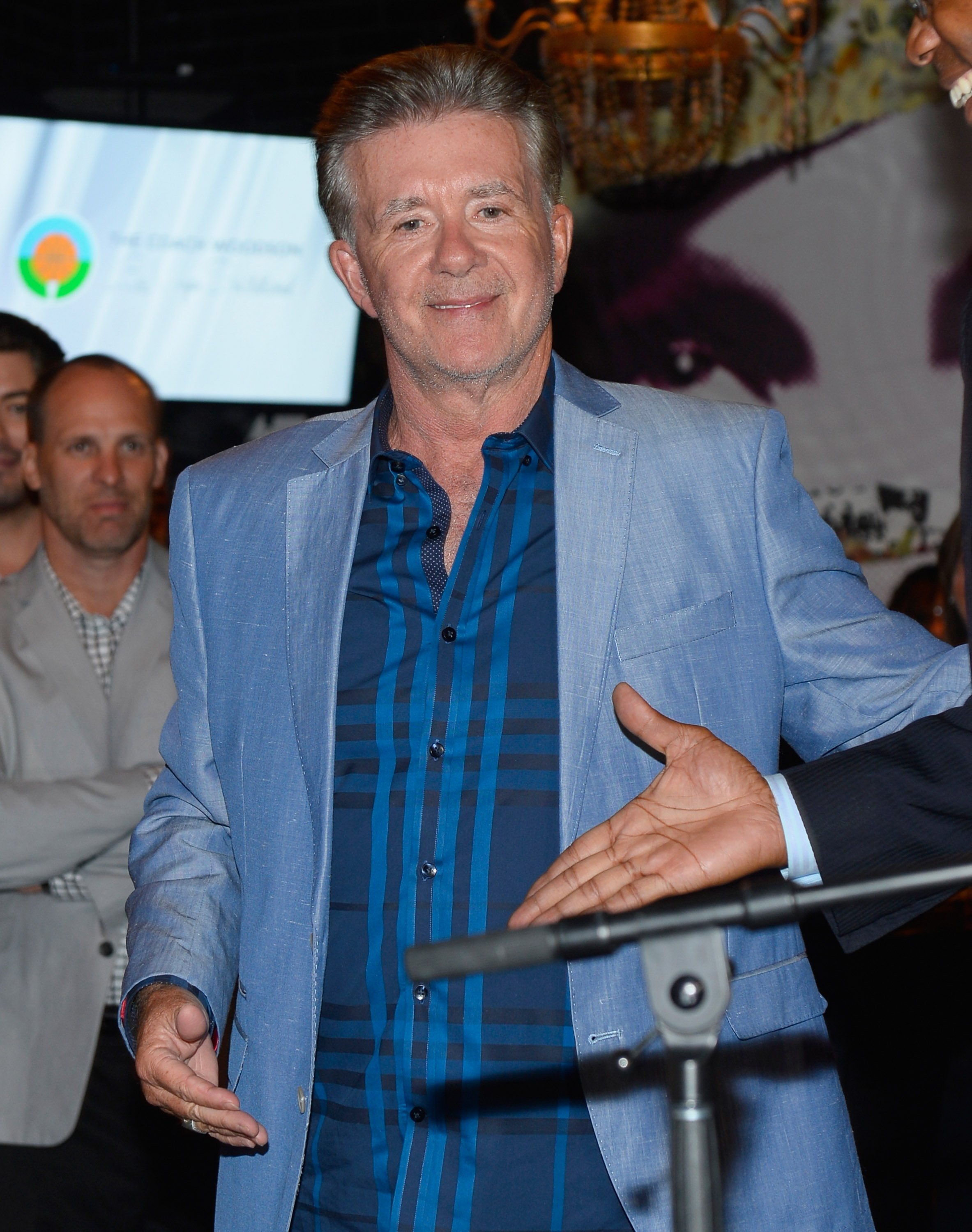 Alan Thicke attends the second annual Coach Woodson Las Vegas Invitational pairings party at on July 12, 2015 in Las Vegas