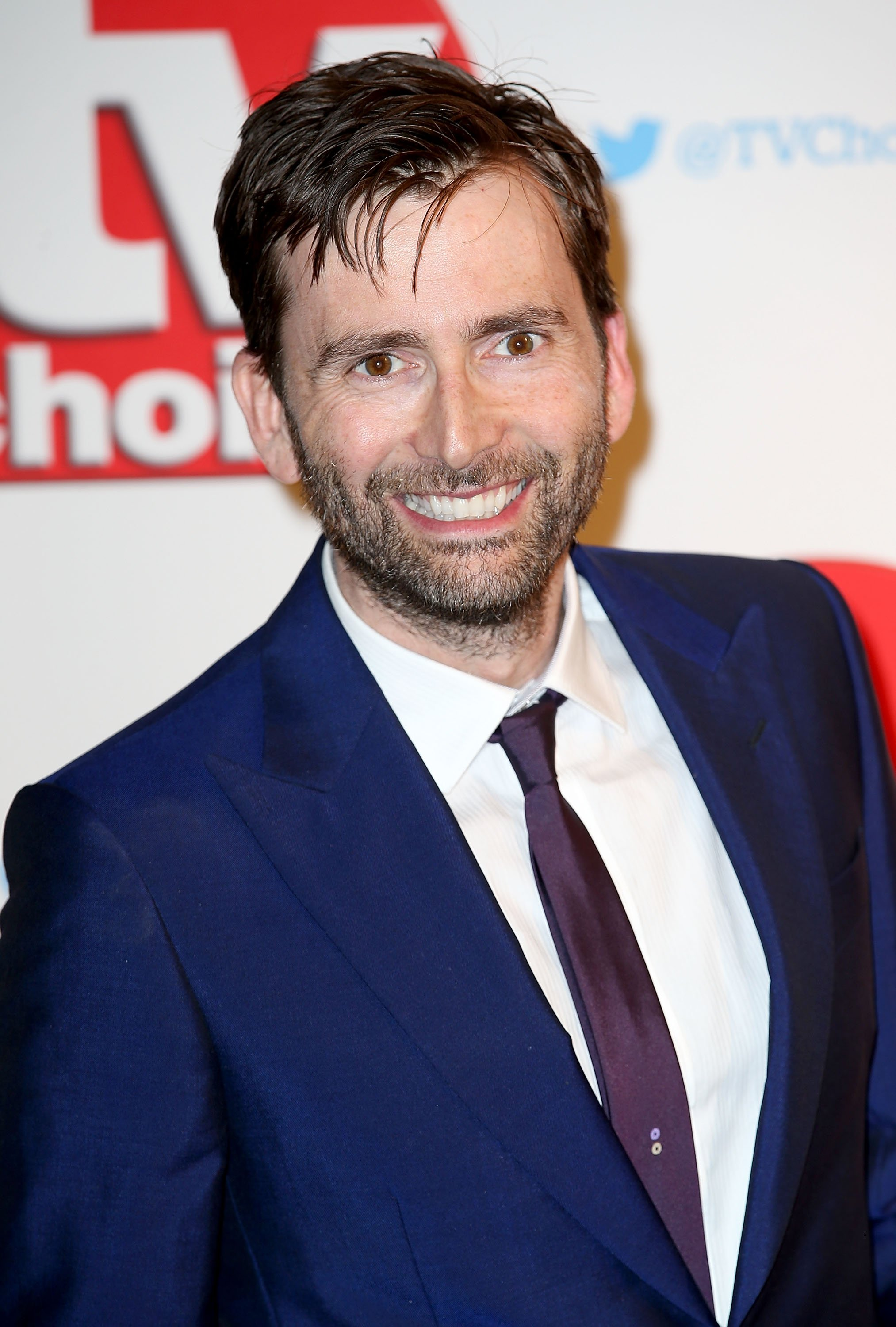David Tennant attends the TV Choice Awards 2015 at Hilton Park Lane on September 7, 2015 in London