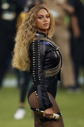 Beyonce performs onstage during the Pepsi Super Bowl 50 Halftime Show at Levi's Stadium on February 7, 2016 in Santa Clara