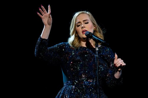 Adele performs on stage at Hallenstadion on May 17, 2016 in Zurich, Switzerland