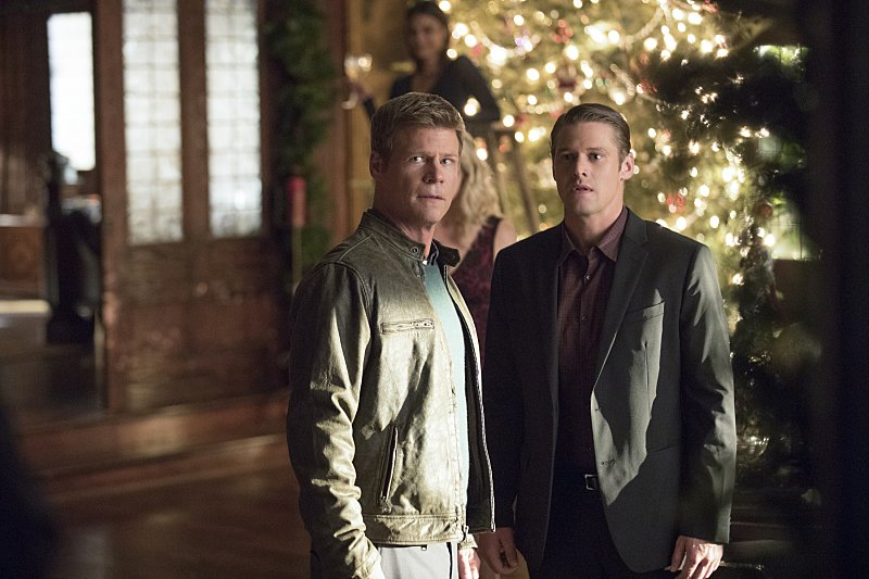Joel Gretsch as Peter and Zach Roerig as Matt in 'The Vampire Diaries' Season 8, Episode 7