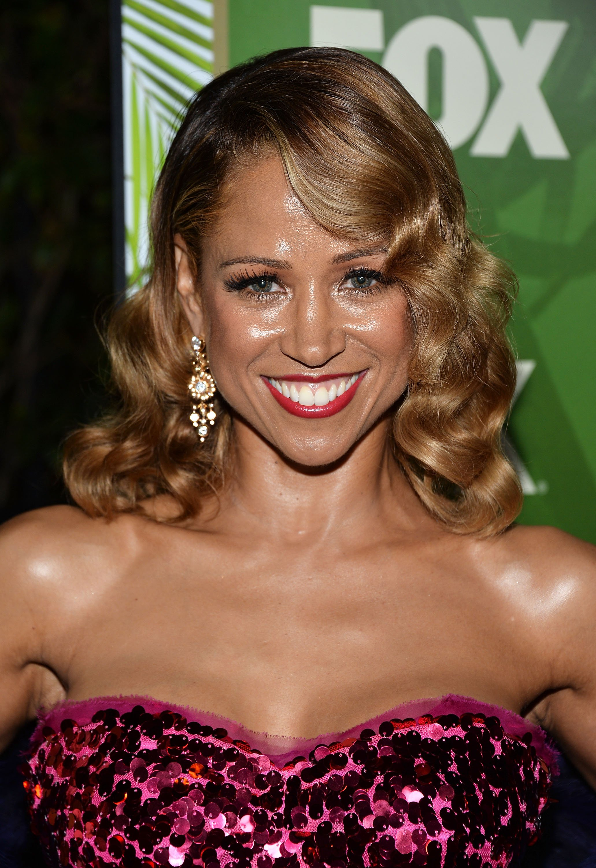 Stacey Dash arrives at the FOX, 20th Century FOX Television, FX Networks and National Geographic Channel's 2014 Emmy Award Nominee Celebration at Vibiana on August 25, 2014 in Los Angeles