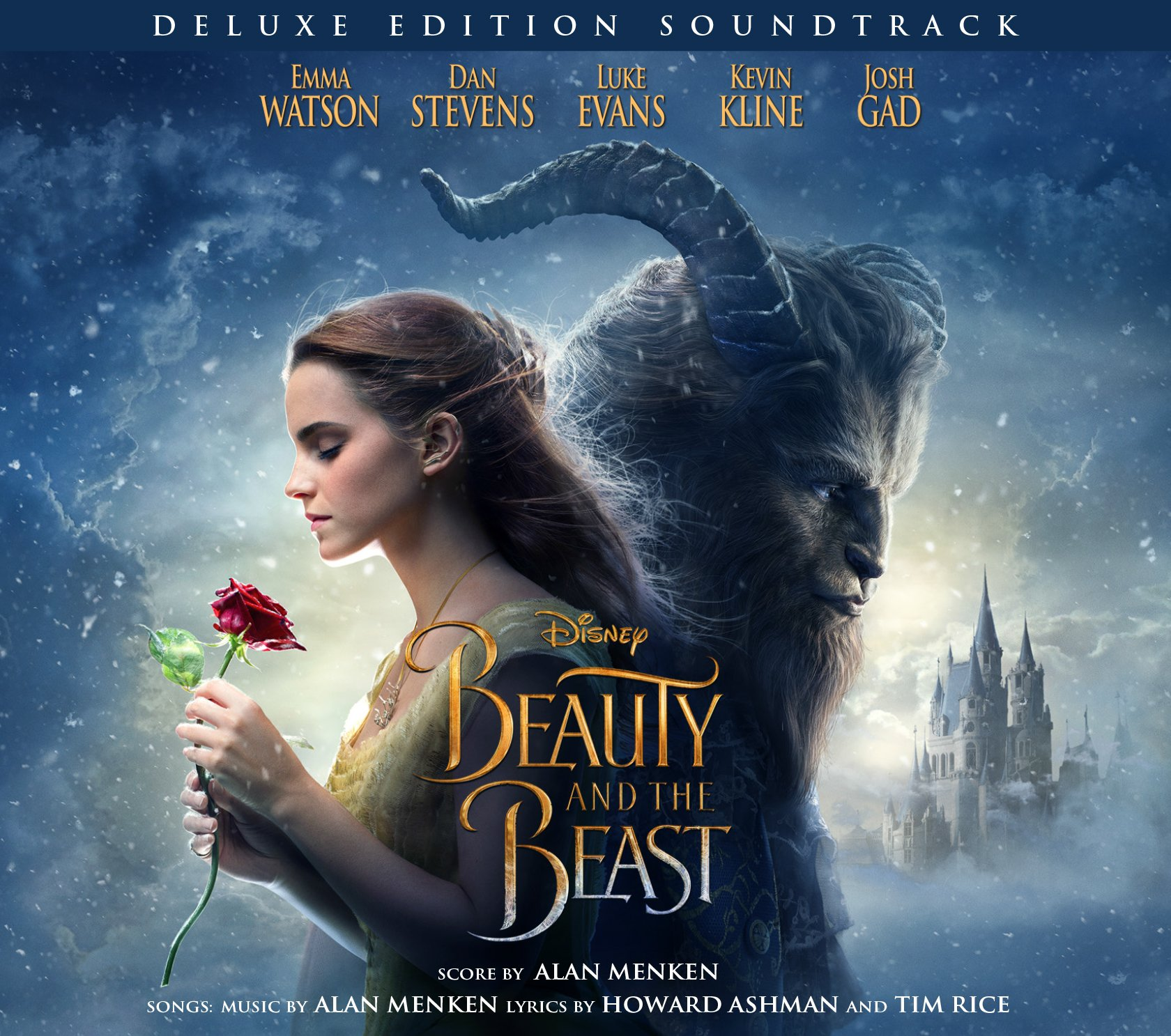 "Soundtrack art for ""Beauty and the Beast"""
