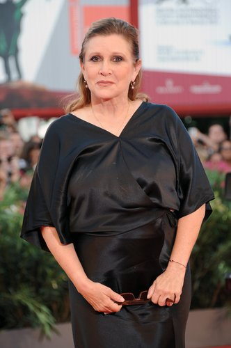 Carrie Fisher attends 'Gravity' premiere and Opening Ceremony during The 70th Venice International Film Festival at Sala Grande on August 28, 2013 in Venice