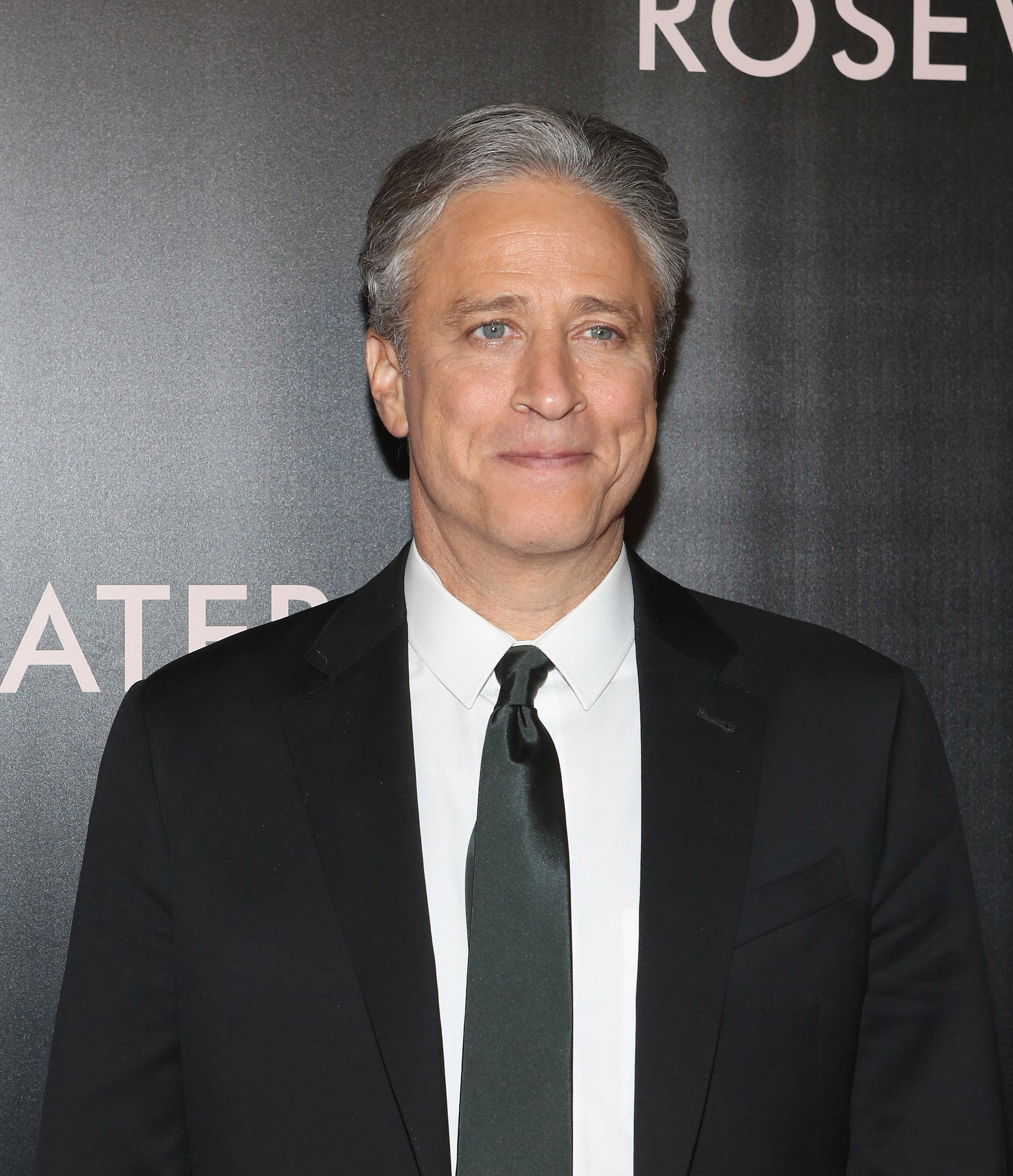 Jon Stewart attends 'Rosewater' New York Premiere at AMC Lincoln Square Theater on November 12, 2014 in New York City