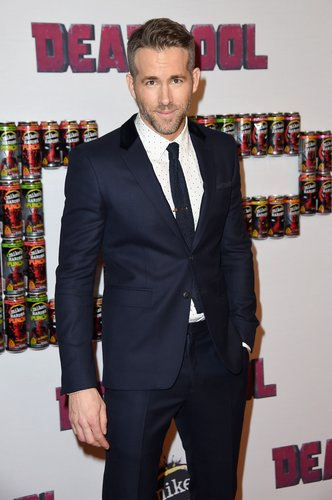 Ryan Reynolds attends the 'Deadpool' fan event at AMC Empire Theatre on February 8, 2016 in New York City
