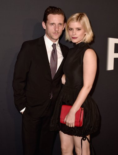 Jamie Bell and Kate Mara attend the 'Past Forward' premiere at Hauser Wirth & Schimmel on November 15, 2016 in Los Angeles