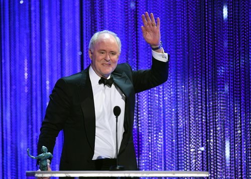 John Lithgow accepts Outstanding Performance by a Male Actor in a Drama Series for 'The Crown' onstage during The 23rd Annual Screen Actors Guild Awards at The Shrine Auditorium on January 29, 2017 in Los Angeles