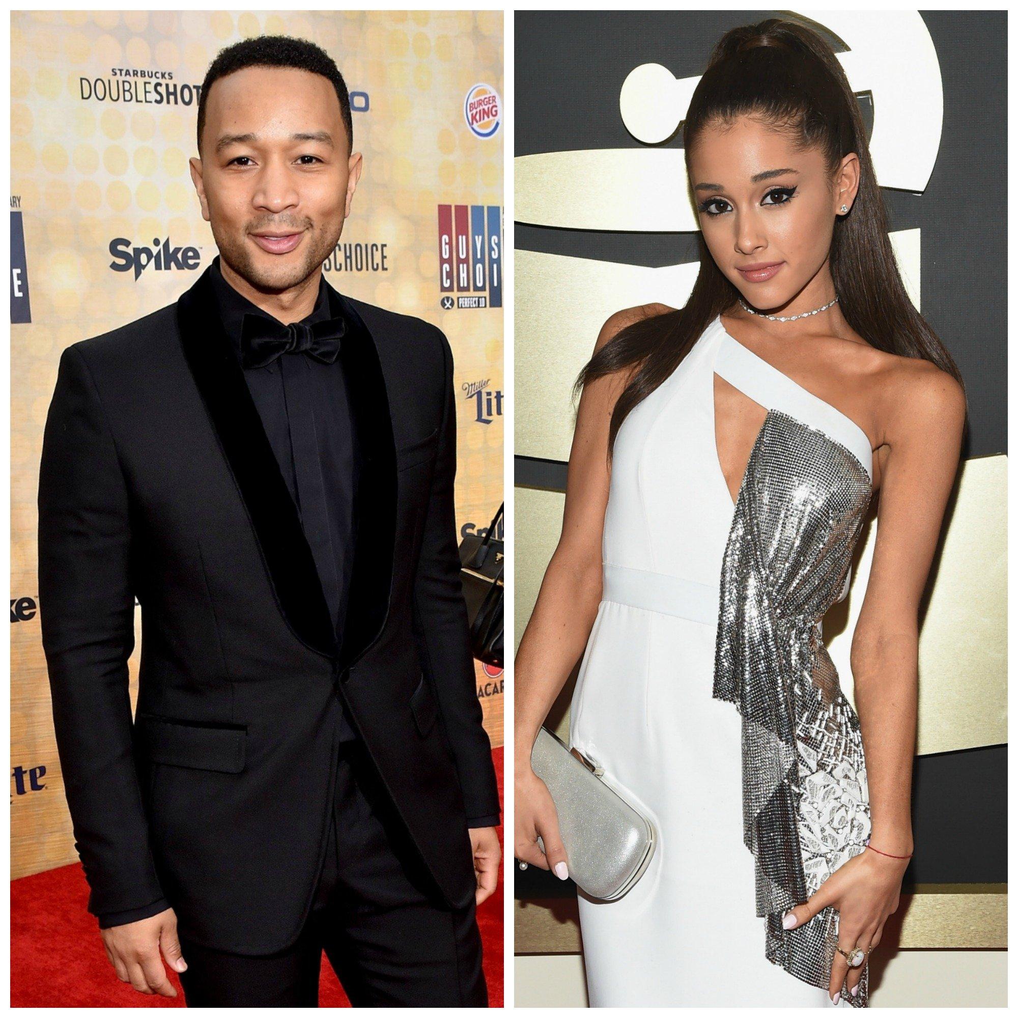 John Legend and Ariana Grande